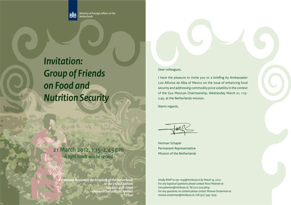 Invitation Group of friends