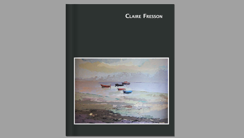 Catalogue of Claire Fresson, 2010, cover