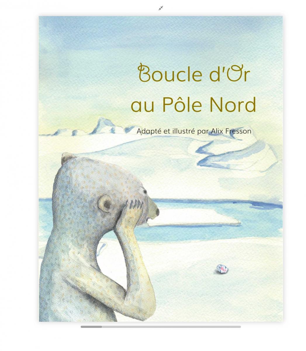 Boucle d'Or au Pôle Nord - cover