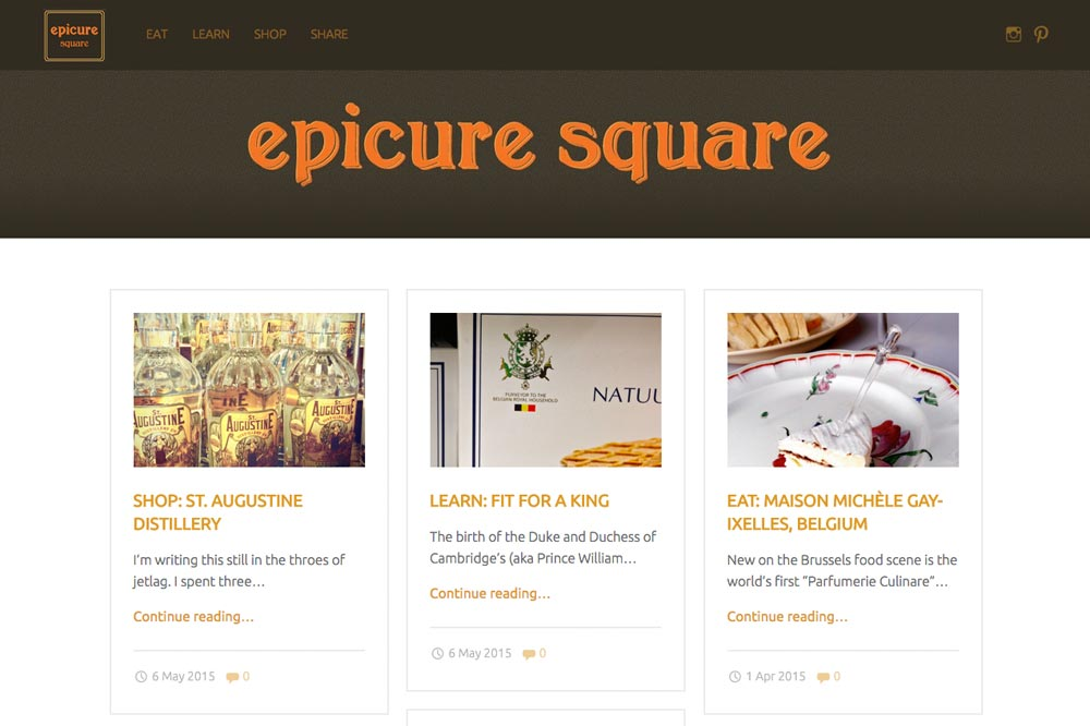 Blog Epicure Square