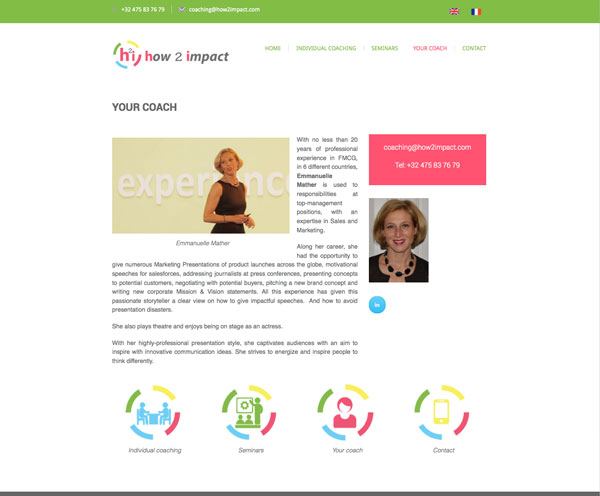 Website of How2impact